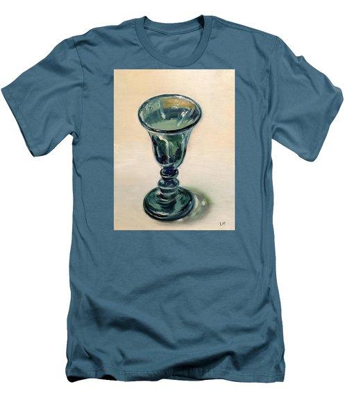 Green Glass Goblet Men's T-Shirt (Athletic Fit)