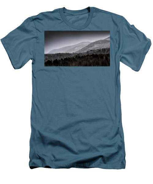 Men's T-Shirt (Slim Fit) featuring the photograph Green Mountains - Vermont by Brendan Reals