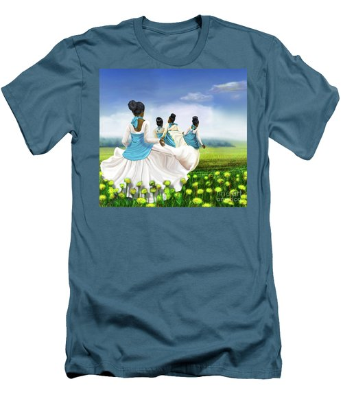 Green Pastures Men's T-Shirt (Athletic Fit)