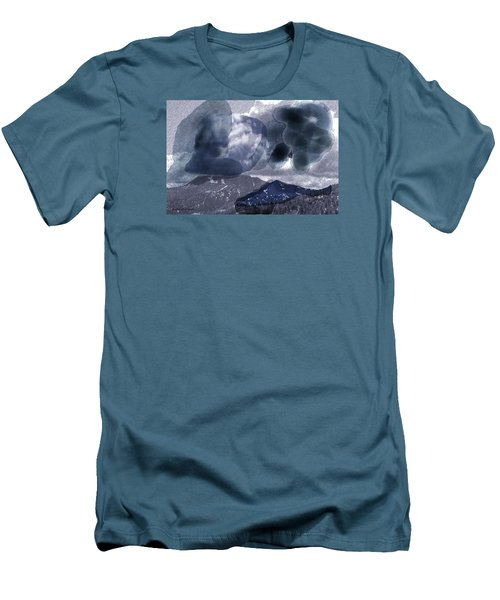 Grey Clouds Men's T-Shirt (Athletic Fit)