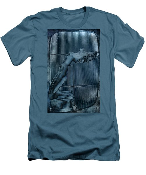 Men's T-Shirt (Slim Fit) featuring the digital art Grill Of The Ride by Greg Sharpe