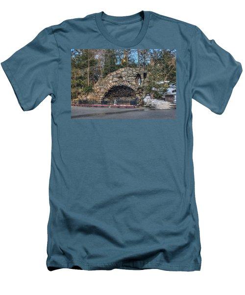 Grotto At Notre Dame University Men's T-Shirt (Athletic Fit)