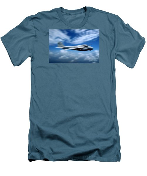 Flight Of The Intruder, Grumman A-6 Men's T-Shirt (Slim Fit) by Wernher Krutein