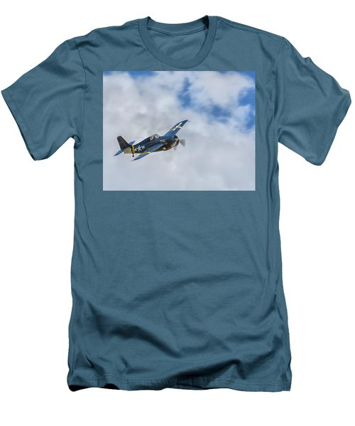Grumman F4f Wildcat Men's T-Shirt (Athletic Fit)