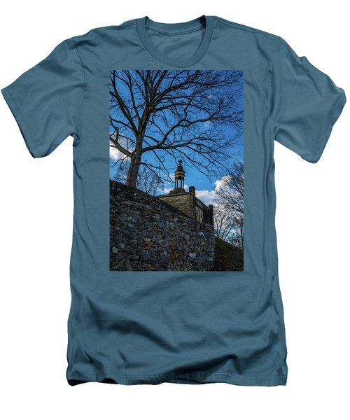 Guarded Summit Memorial Men's T-Shirt (Athletic Fit)