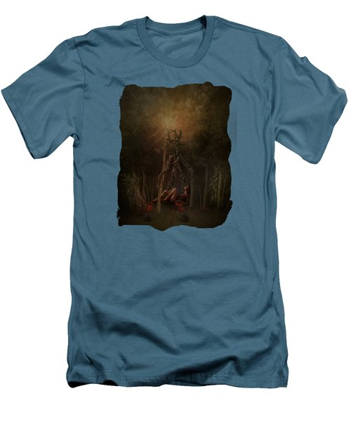 Guardians Of The Forest Men's T-Shirt (Slim Fit) by Terry Fleckney