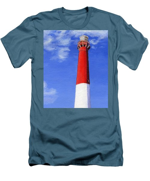Men's T-Shirt (Slim Fit) featuring the painting Guiding Light by Lynne Reichhart