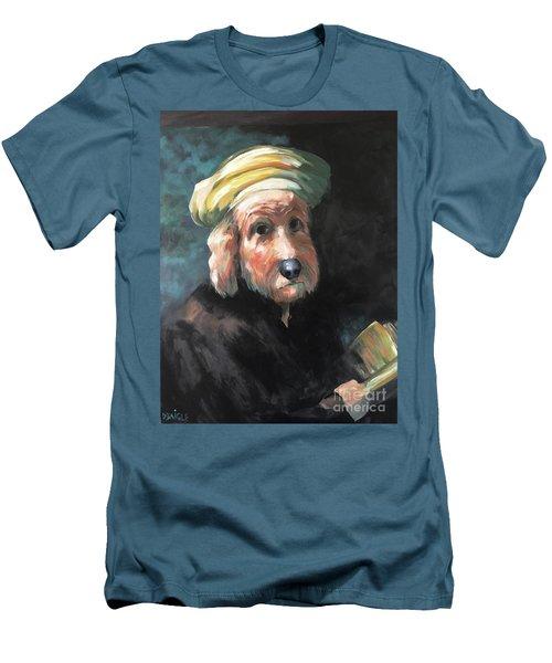 Gunther's Self Portrait Men's T-Shirt (Slim Fit) by Diane Daigle