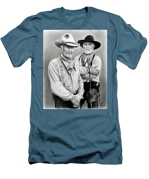 Gus And Woodrow Men's T-Shirt (Athletic Fit)