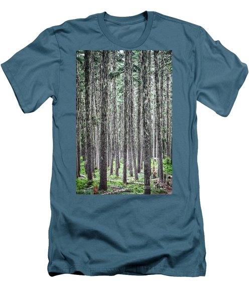Hairy Forest Men's T-Shirt (Athletic Fit)