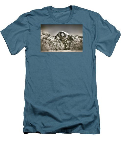 Half Dome Yosemite Men's T-Shirt (Slim Fit) by James Bethanis