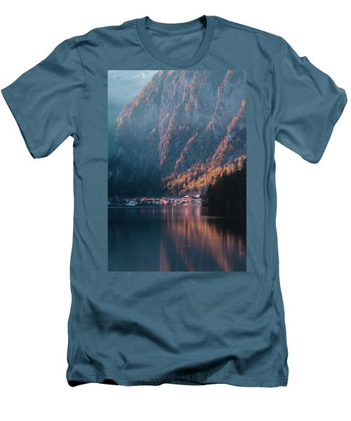 Hallstatt Fall Men's T-Shirt (Athletic Fit)