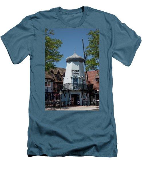 Hamlet Square Men's T-Shirt (Athletic Fit)