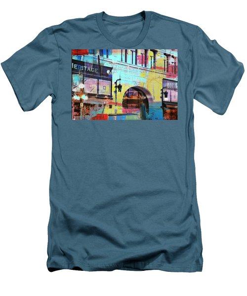 Men's T-Shirt (Slim Fit) featuring the photograph Hamm Building St. Paul by Susan Stone