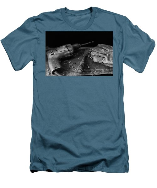 Men's T-Shirt (Slim Fit) featuring the photograph Hand Tools 3 by Richard Rizzo