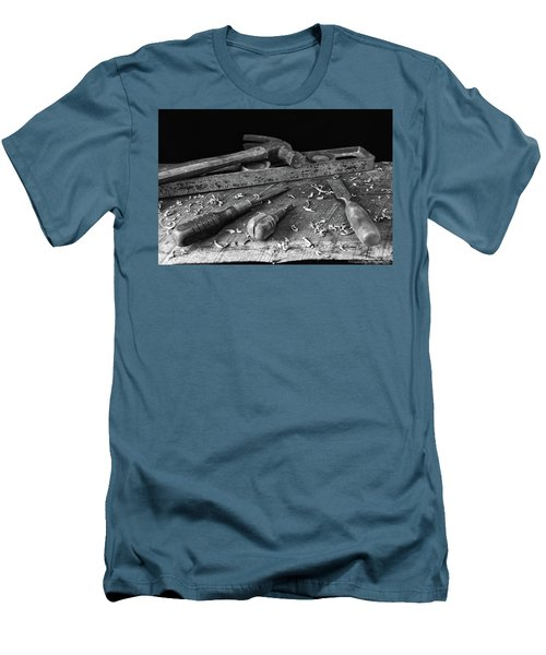 Men's T-Shirt (Slim Fit) featuring the photograph Hand Tools 2 by Richard Rizzo