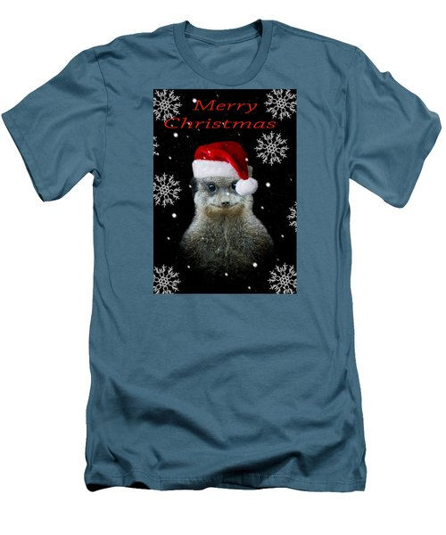 Happy Christmas Men's T-Shirt (Slim Fit) by Paul Neville