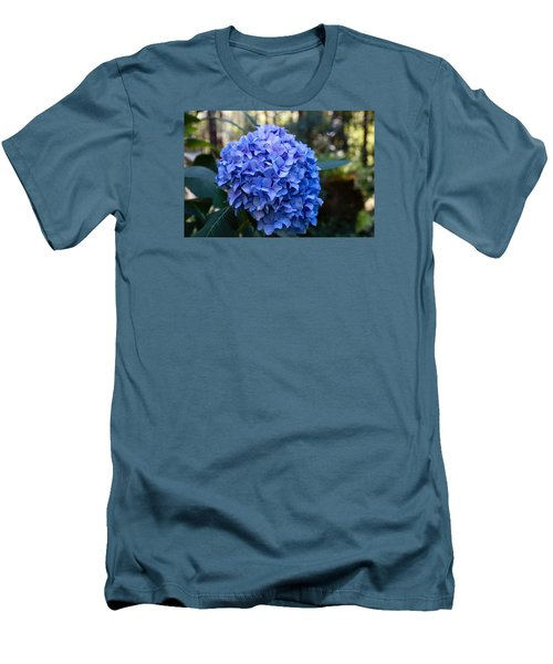 Happy Hydrangea Men's T-Shirt (Athletic Fit)
