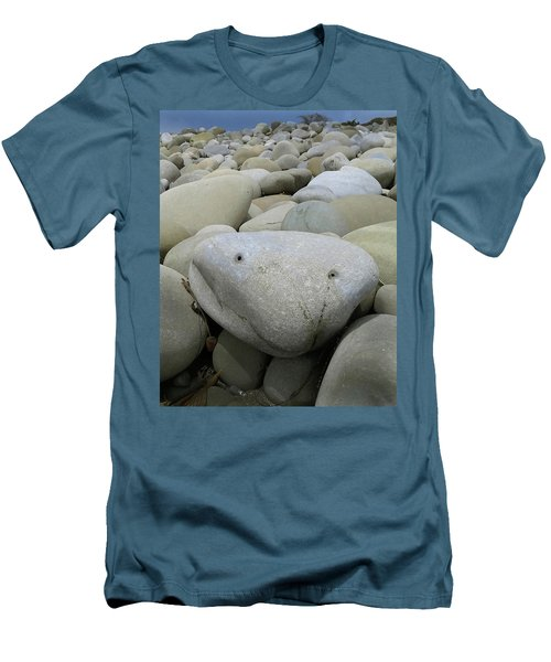 Happy Rock Men's T-Shirt (Athletic Fit)