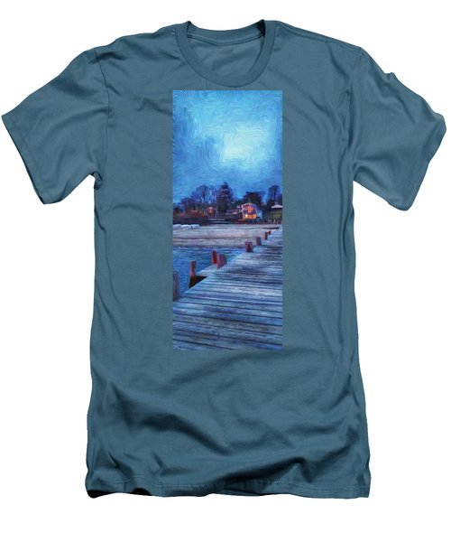 Harbormasters Office Owen Park Men's T-Shirt (Athletic Fit)