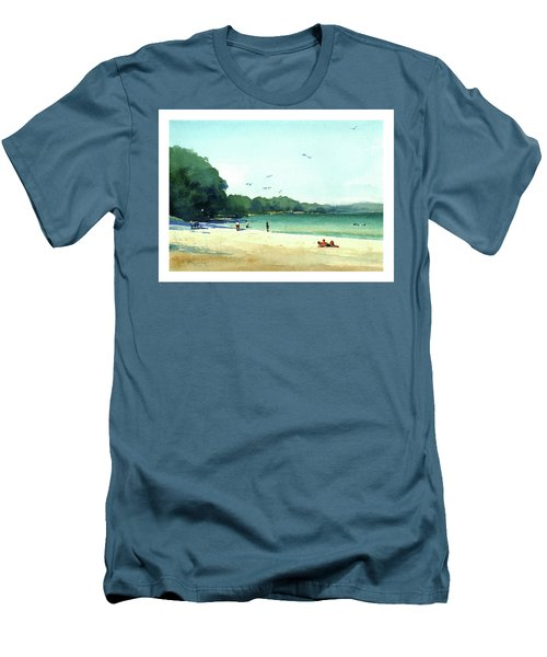 Harrington Beach, Wisconsin Men's T-Shirt (Athletic Fit)