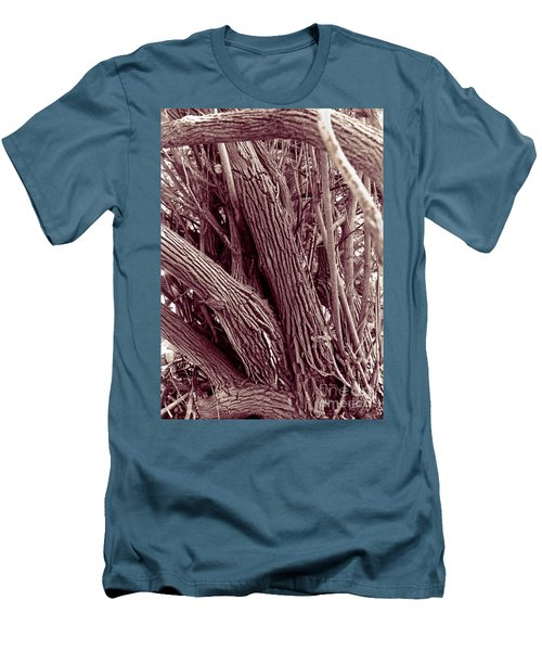 Men's T-Shirt (Slim Fit) featuring the photograph Hau Trees by Mukta Gupta