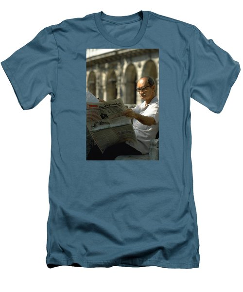Men's T-Shirt (Slim Fit) featuring the photograph Havana by Travel Pics
