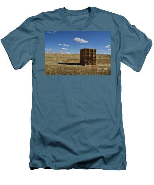 Haystack Off Hwy 2 Men's T-Shirt (Athletic Fit)
