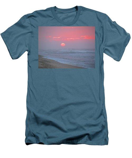 Hazy Sunrise I I Men's T-Shirt (Slim Fit) by  Newwwman