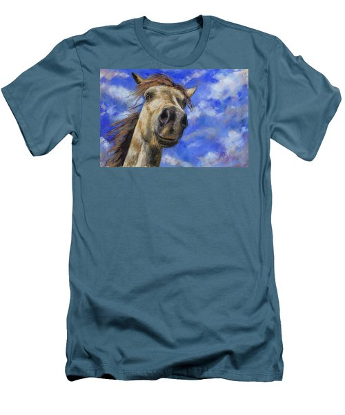 Head In The Clouds Men's T-Shirt (Slim Fit) by Billie Colson