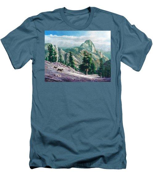 Heading Down Men's T-Shirt (Slim Fit) by Douglas Castleman