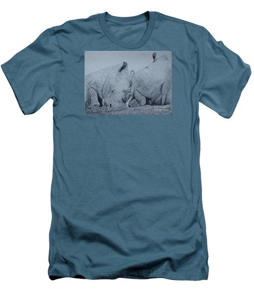 Heads Or Tails Men's T-Shirt (Slim Fit) by David Joyner