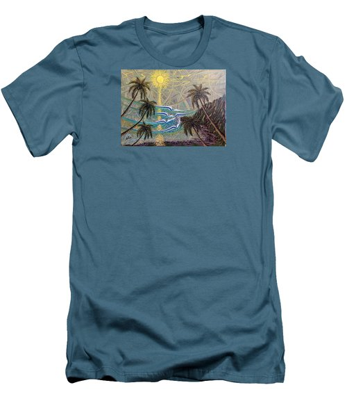 Healing Sunset Men's T-Shirt (Athletic Fit)