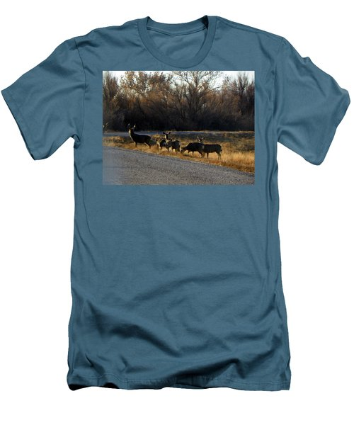 Heard Of Deer Men's T-Shirt (Athletic Fit)