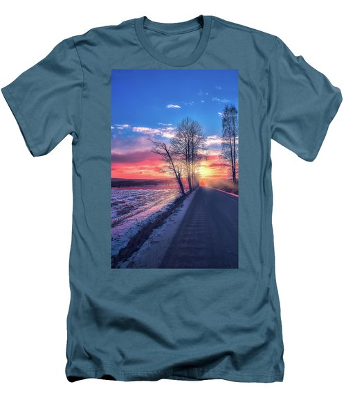 Heavenly Journey Men's T-Shirt (Athletic Fit)