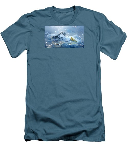 Heavenly Shells Men's T-Shirt (Athletic Fit)