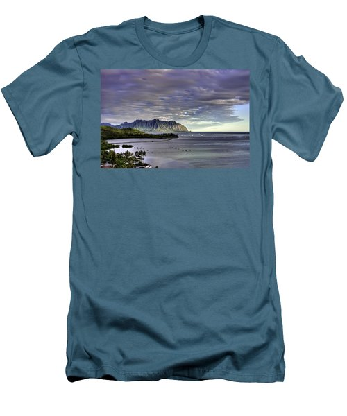 He'eia And Kualoa 2nd Crop Men's T-Shirt (Athletic Fit)