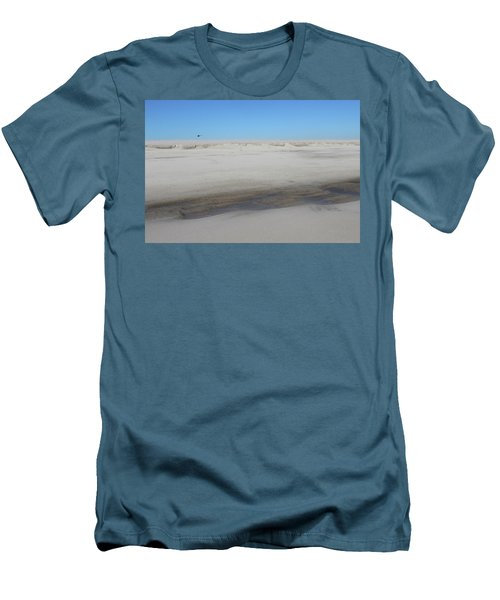 Helecopter Shirley New York Men's T-Shirt (Slim Fit) by Bob Savage