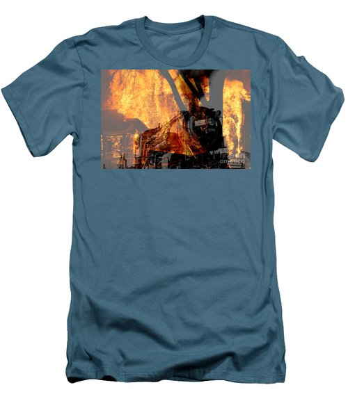 Hell Train Men's T-Shirt (Athletic Fit)