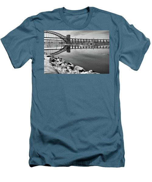 Hellgate Half Reflection Men's T-Shirt (Athletic Fit)