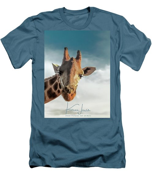Men's T-Shirt (Slim Fit) featuring the photograph Hello Down There by Karen Lewis