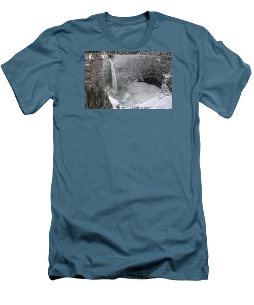 Helmcken Falls Men's T-Shirt (Athletic Fit)
