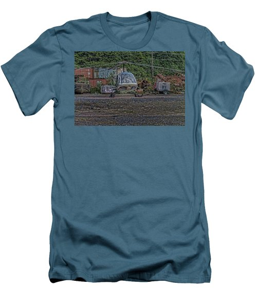 Men's T-Shirt (Slim Fit) featuring the photograph Help 4 by Timothy Latta