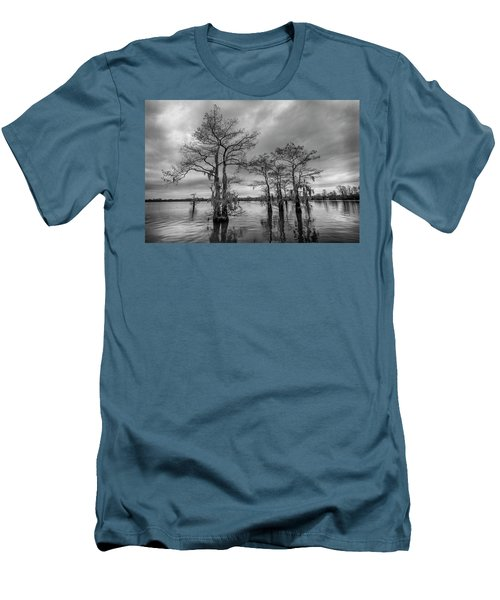 Henderson Swamp Wetplate Men's T-Shirt (Slim Fit) by Andy Crawford
