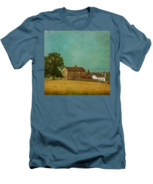 Henry House At Manassas Battlefield Park Men's T-Shirt (Athletic Fit)