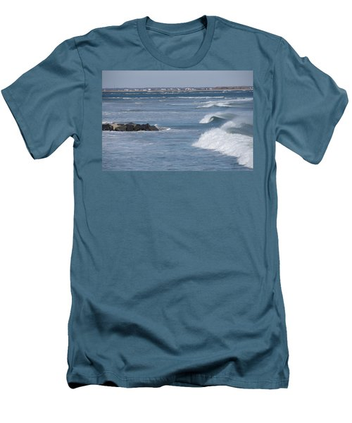 Hereford Inlet Men's T-Shirt (Slim Fit) by Greg Graham