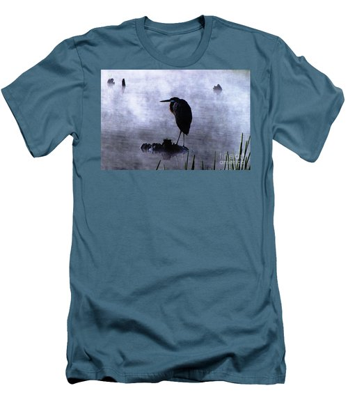 Heron 4 Men's T-Shirt (Athletic Fit)