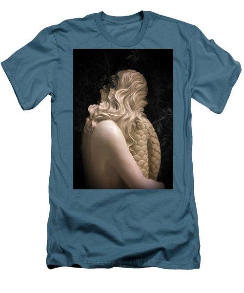 Hidden Mermaid Men's T-Shirt (Athletic Fit)