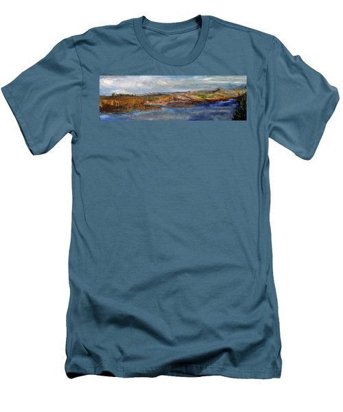Tranquility Men's T-Shirt (Slim Fit) by Michael Helfen