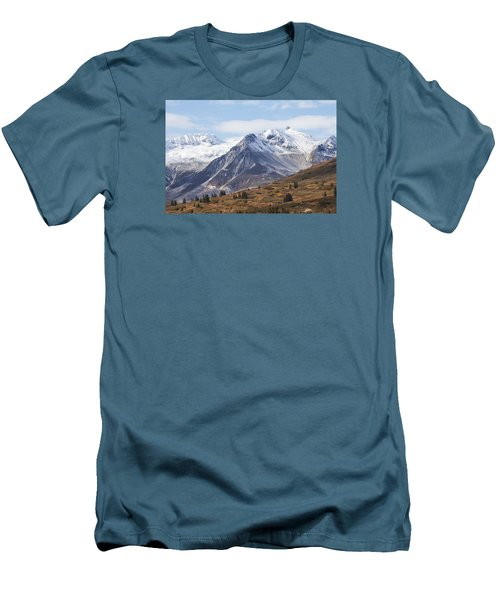 High Country In Fall Men's T-Shirt (Slim Fit) by Michele Cornelius
